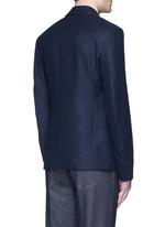 Bee embroidery cashmere pyjama blazer