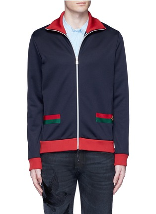 Gucci - Bee embroidery track jacket