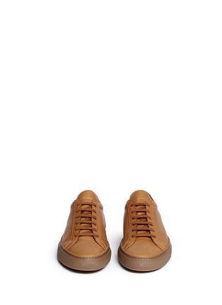 Front View - Click To Enlarge - Common Projects - 'Original Achilles' leather sneakers