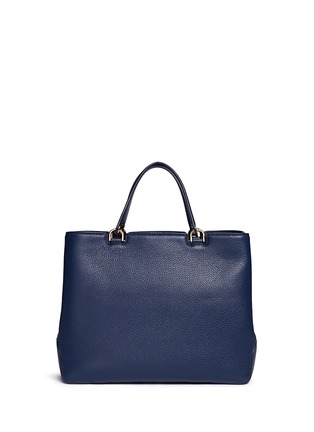 Back View - Click To Enlarge - Michael Kors - 'Anabelle' large leather top zip tote