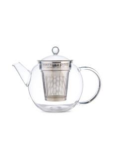 FORTNUM MASON Glass Teapot