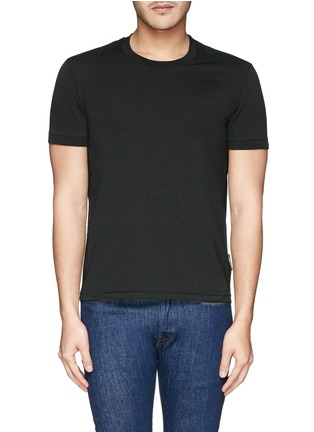 Main View - Click To Enlarge - Dolce & Gabbana - Crew neck jersey undershirt