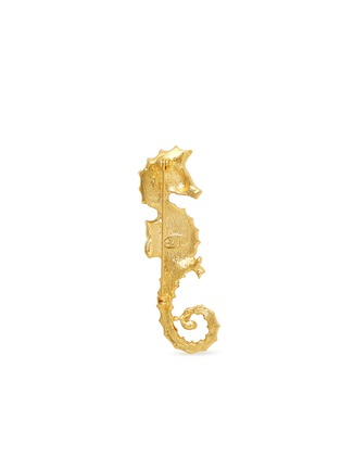 Figure View - Click To Enlarge - Kenneth Jay Lane - Crystal pavé seahorse brooch
