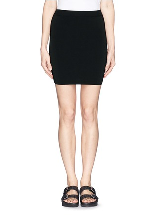 Main View - Click To Enlarge - T By Alexander Wang - Stretch slim fit pencil skirt