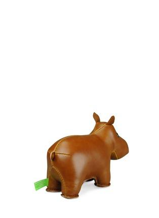 Zuny-Classic hippo bookend