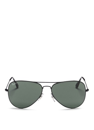 Ray-Ban - 'Aviator Flat Metal' sunglasses