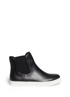 PEDDER REDLeather sneaker boots