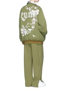 FENTY PUMA by RihannaFloral jacquard reversible satin bomber jacket