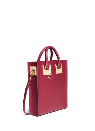 Sophie Hulme-'Albion' mini rectangle leather box tote