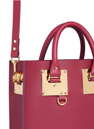 - Sophie Hulme - 'Albion' mini rectangle leather box tote