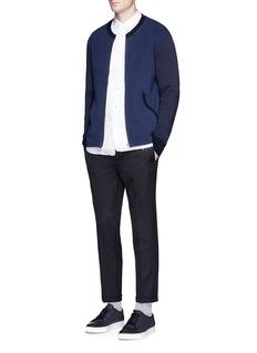 Comme Des Garçons HommeReverse sweatshirt jersey jacket