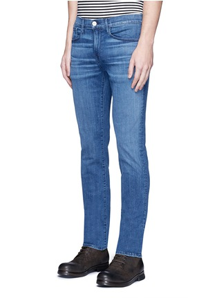 Front View - Click To Enlarge - 3x1 - 'M5' selvedge skinny jeans