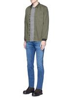 'M5' selvedge skinny jeans
