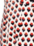 Detail View - Click To Enlarge - VICTORIA, VICTORIA BECKHAM - Strawberry jacquard plunge V-neck dress