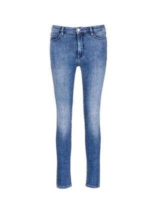 Main View - Click To Enlarge - VICTORIA, VICTORIA BECKHAM - Cotton blend washed jeans