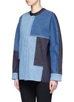 Patchwork denim jacket