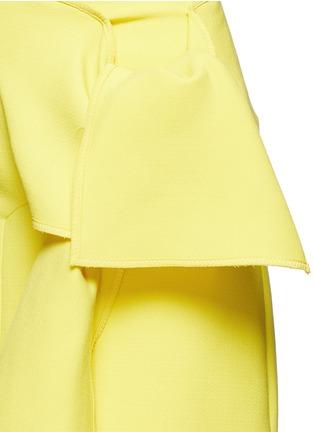 VICTORIA, VICTORIA BECKHAM-Tie front twill skirt