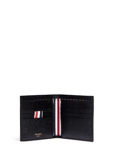 Thom Browne Pebble grain leather bifold wallet