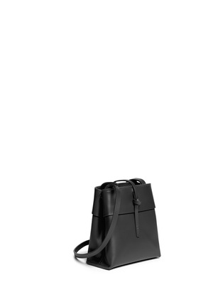 Front View - Click To Enlarge - Kara - 'Nano Tie' leather crossbody bag