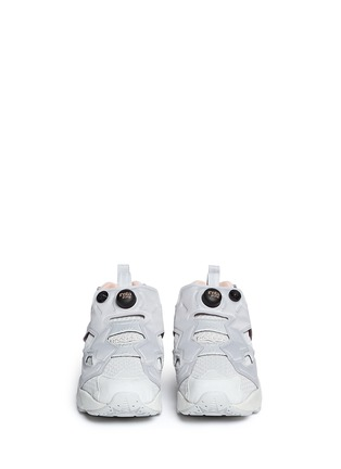 Front View - Click To Enlarge - Reebok - Insta Pump Fury CLSHX' slip-on sneakers