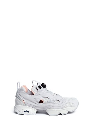 Main View - Click To Enlarge - Reebok - Insta Pump Fury CLSHX' slip-on sneakers