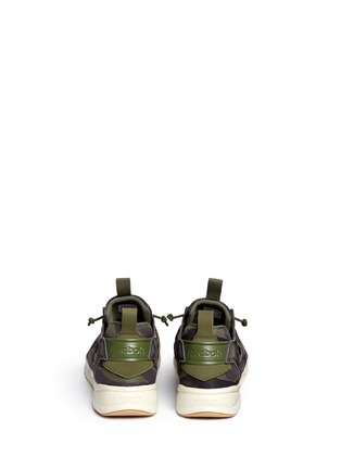 Back View - Click To Enlarge - Reebok - 'Furylite Cloud Pack' camouflage print sneakers