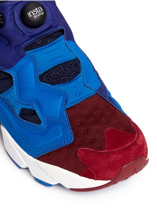 Detail View - Click To Enlarge - Reebok - 'Insta Pump Fury' slip-on sneakers