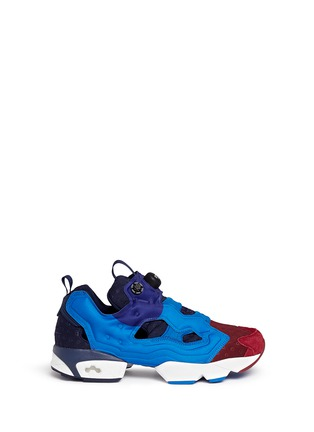 Main View - Click To Enlarge - Reebok - 'Insta Pump Fury' slip-on sneakers