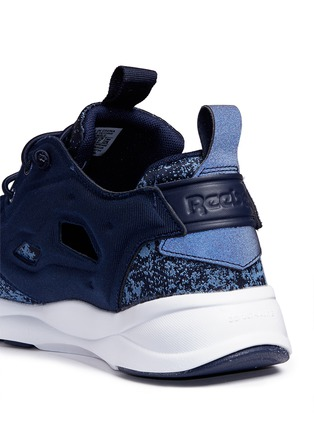 Detail View - Click To Enlarge - Reebok - 'Furylite JF' fade jacquard sneakers
