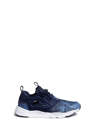 Main View - Click To Enlarge - Reebok - 'Furylite JF' fade jacquard sneakers