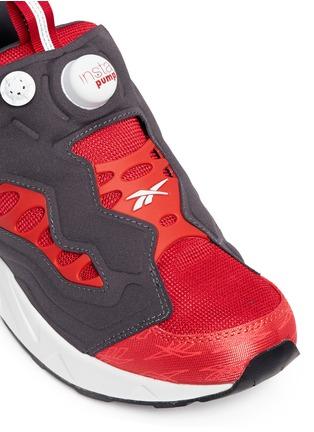 Detail View - Click To Enlarge - Reebok - 'InstaPump Fury Road' slip-on sneakers