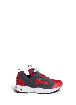Main View - Click To Enlarge - Reebok - 'InstaPump Fury Road' slip-on sneakers