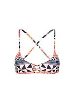 'Pinwheel' lattice front bralette bikini top