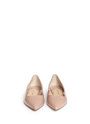 Figure View - Click To Enlarge - Paul Andrew - 'Zoya' wavy patent leather skimmer flats