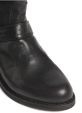 Detail View - Click To Enlarge - FIORENTINI+BAKER - Chad' buckle strap leather ankle boots