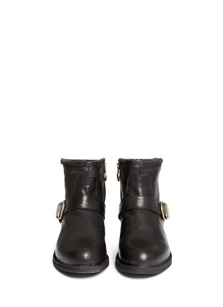 Figure View - Click To Enlarge - FIORENTINI+BAKER - Chad' buckle strap leather ankle boots