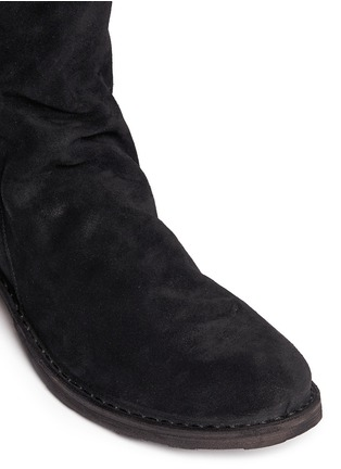 Detail View - Click To Enlarge - FIORENTINI+BAKER - 'Ella' foldover cuff suede boots