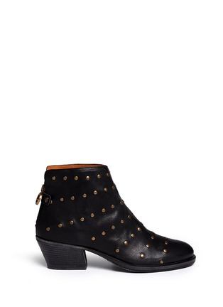 Main View - Click To Enlarge - FIORENTINI+BAKER - 'Gemma' stud leather ankle boots
