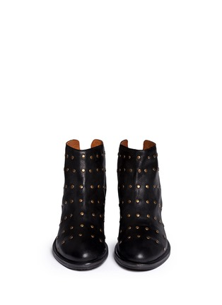 Figure View - Click To Enlarge - FIORENTINI+BAKER - 'Gemma' stud leather ankle boots