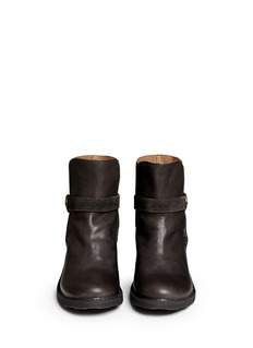 FIORENTINI+BAKER'Lynna' ankle strap leather boots