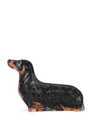 Main View - Click To Enlarge - Judith Leiber - 'Romeo Dachshund' crystal pavé minaudière