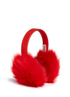 KARL DONOGHUEToscana lambskin shearling suede ear muffs