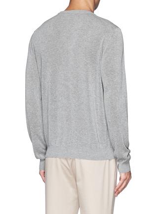INCOTEX-单色纯棉针织衫