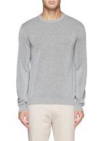 单色纯棉针织衫