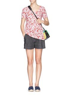 TORY BURCH'Ester' floral print pima cotton T-shirt
