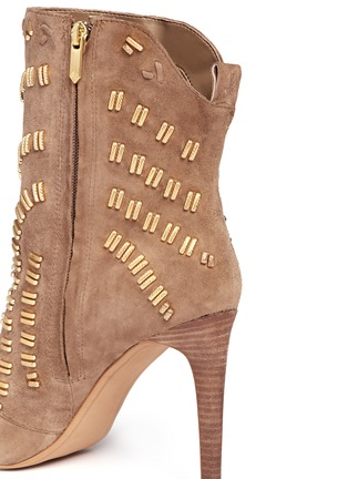 Detail View - Click To Enlarge - Sam Edelman - Melina suede booties