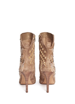 Back View - Click To Enlarge - Sam Edelman - Melina suede booties