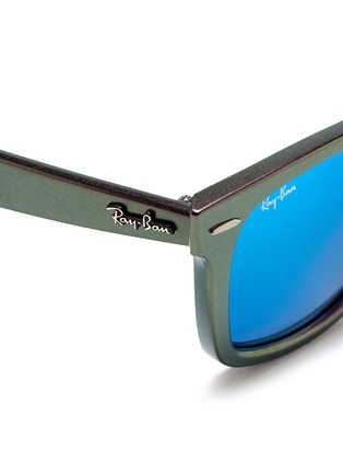 Detail View - Click To Enlarge - Ray-Ban - 'Original Wayfarer Cosmo Saturn' iridescent acetate sunglasses