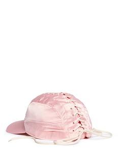 FENTY PUMA by RihannaLace-up satin baseball cap