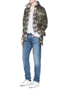 J Brand'Tyler' slim fit distressed jeans